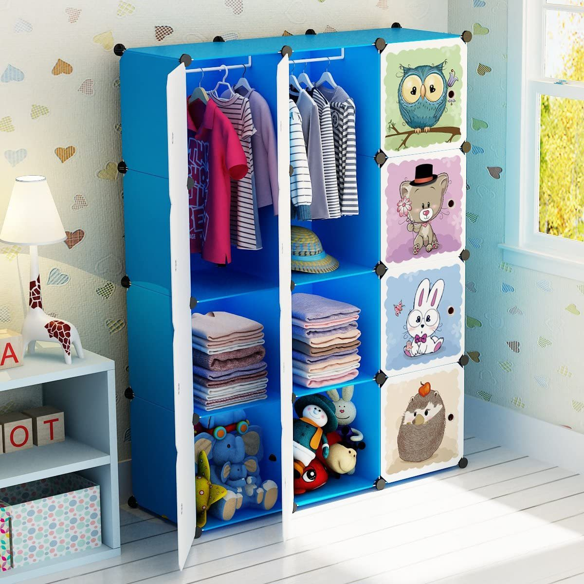 MAGINELS Portable Kid Organizers and Cute Baby Storage ...